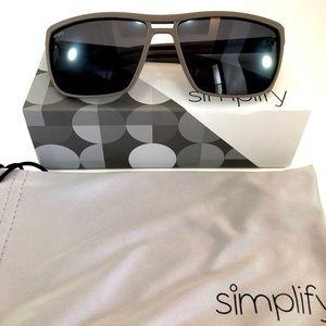 Simplify Mens Winchester Polarized Sunglasses Grey